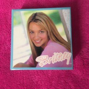 Vintage Britney Spears notepad